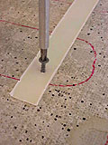 установка теплого пола : закрепляем монтажную планку