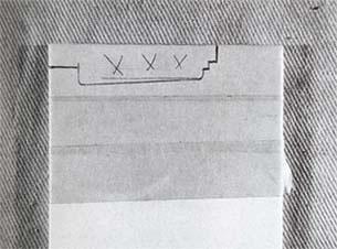 Фигурная резка плитки - для начала разметьте плитку