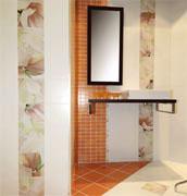 Керамическая плитка с цветочными вставками, Cerdisa, Италия