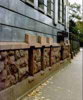 отделка фасада гранитом рапакиви