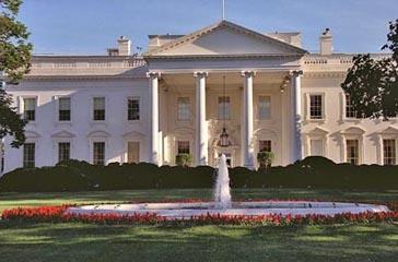 Колонны в Белом доме сделаны из хорватского мрамора