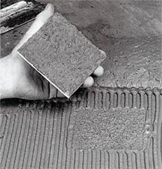 правильно приготовленный клей для плитки
