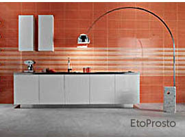 Carrot tile from Marazzi