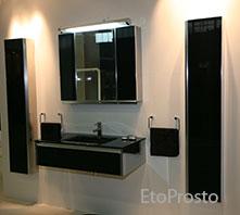 Модная мебель для ванной комнаты от Metalkris