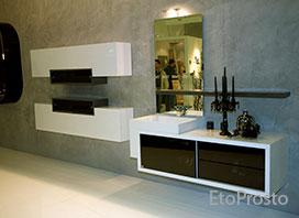 Новая мебель для ванных комнат фабрики BMT