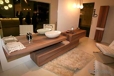 деревяная мебель для ванной Arlex