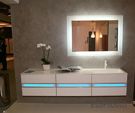 мебель для ванной с подсветкой