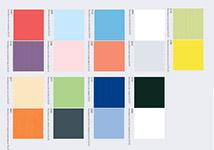 Цветовая гамма коллекции плитки Калейдоскоп, фабрика Керама Марацци