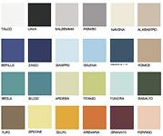 Плитка CE.SI I colori Lucidi - палитра моноколоров