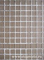 Задняя поверхность плитки, квадраты
